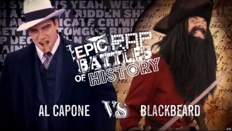 ERB - capone vs BlackBeard
